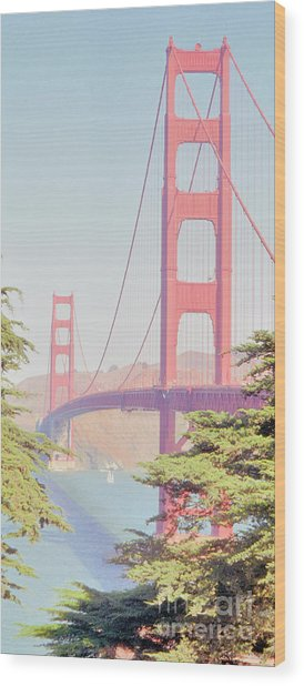 1930s Golden Gate Wood Print