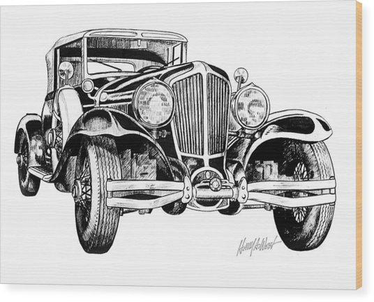 1930 Cord Wood Print