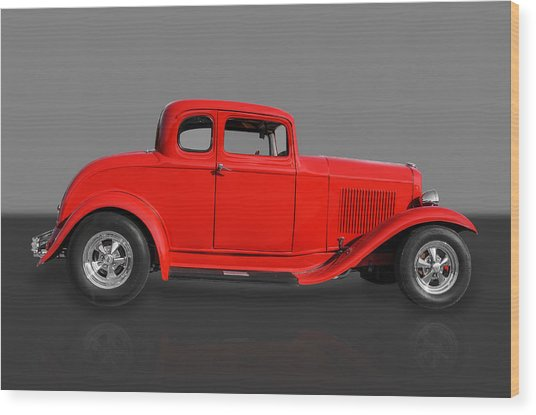 1932 Ford Wood Print by Frank J Benz