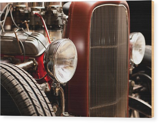 1932 Ford Hotrod Wood Print