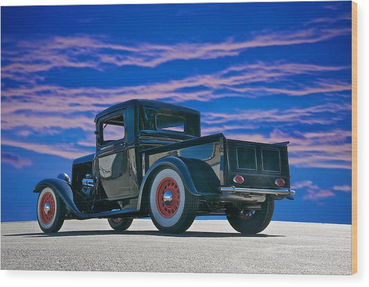 1932 Ford Pick Up V Wood Print by Dave Koontz