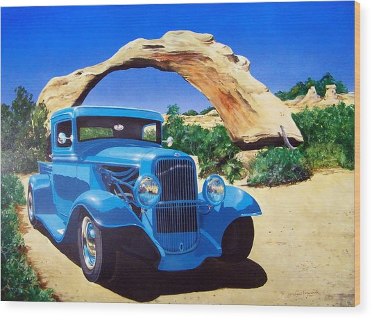 1933 Ford Pickup Wood Print