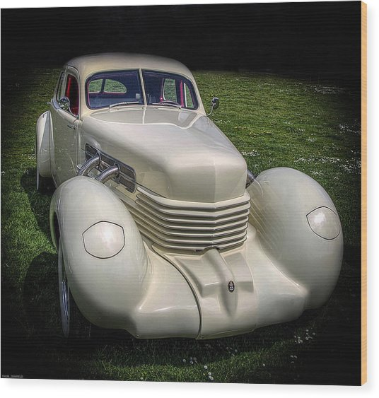 1936 Cord Automobile Wood Print