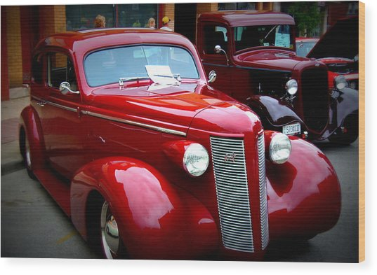 1937 Buick 8 Wood Print by Willy  Nelson