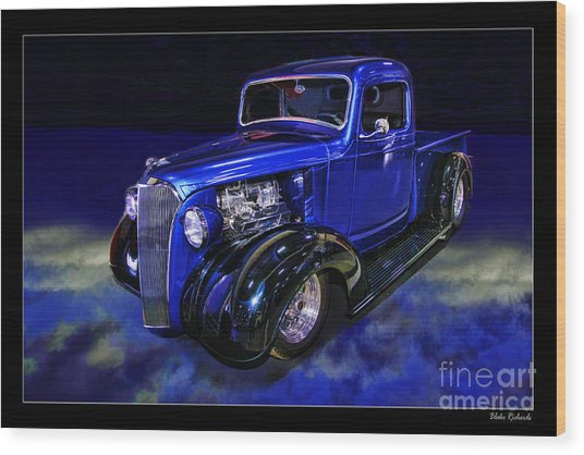 1937 Chevrolet Pickup Truck Wood Print