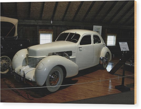 1937 Cord 812 Westchester Wood Print