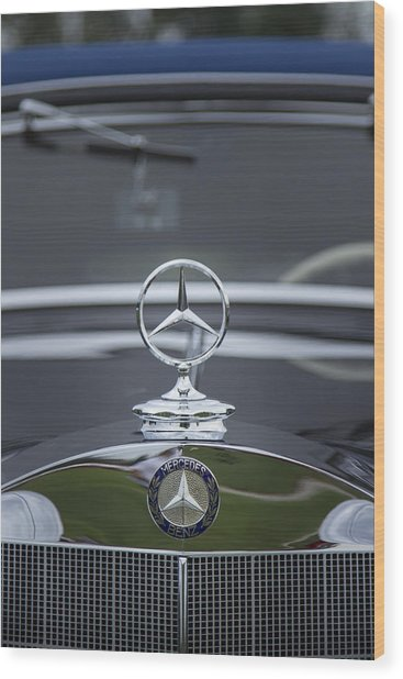 1937 Mercedes Benz Wood Print