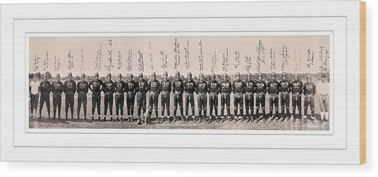 1937 Washington Redskins Team Photo Wood Print by Unknown