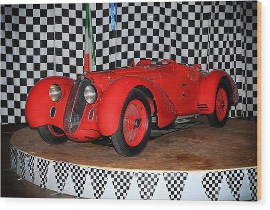 1938 Alfa Romeo 2900b Mm Wood Print