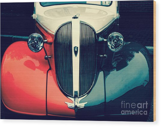 1938 Plymouth Deluxe  Wood Print by Steven Digman