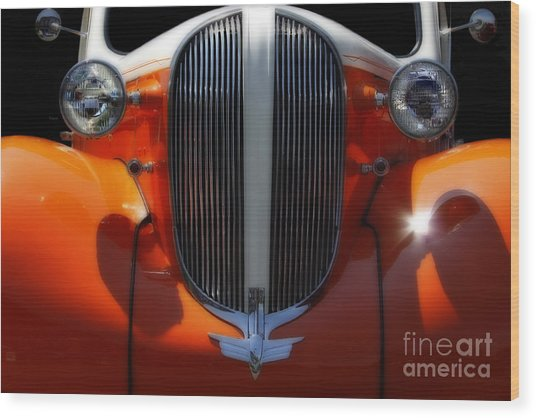 1938 Plymouth  Wood Print by Steven Digman