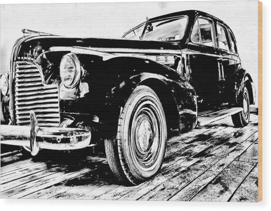 1940 Buick Century Wood Print