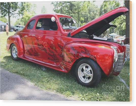 1941 Plymouth Coupe Wood Print