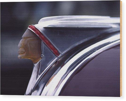 1941 Pontiac Hood Ornament Wood Print