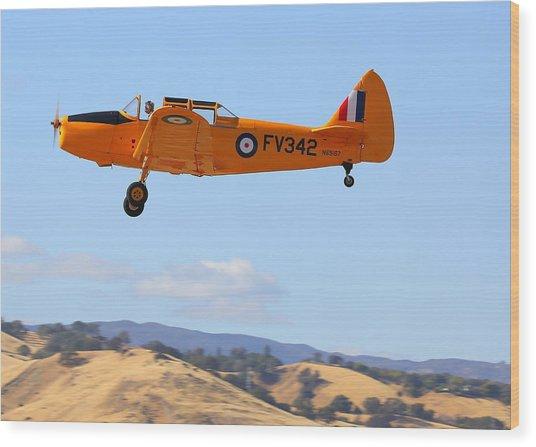 1943 Fairchild M62a-3 On Climb-out N69167 Wood Print by John King