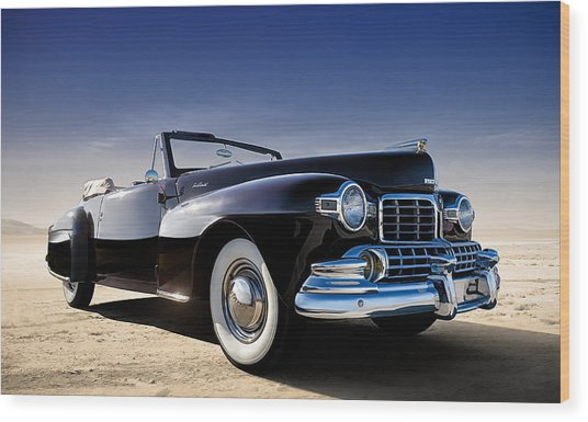 1947 Lincoln Continental Wood Print