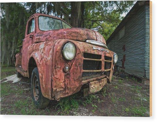 1948 Dodge Pickup Wood Print