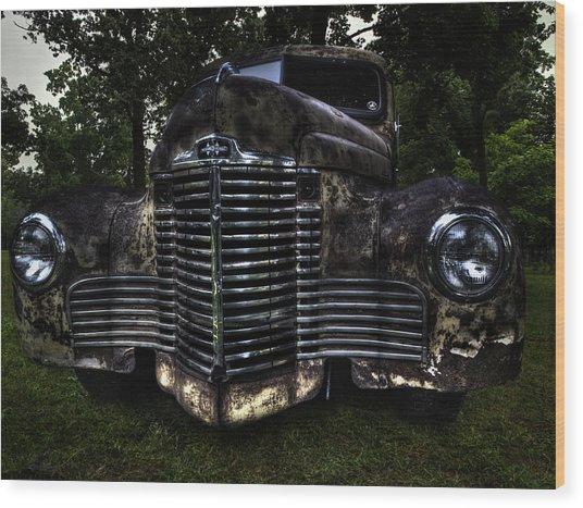 1948 International Truck Wood Print