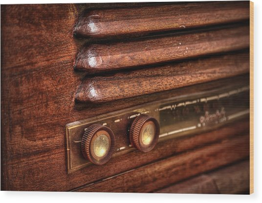 1948 Mantola Radio Wood Print