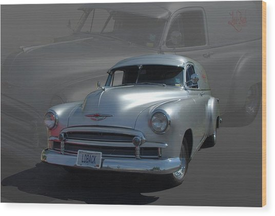 1950 Chevrolet Sedan Delivery Wood Print by Tim McCullough