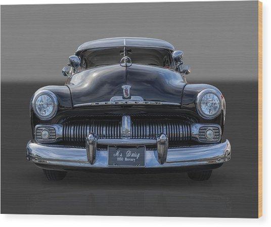 1950 Mercury Wood Print by Frank J Benz