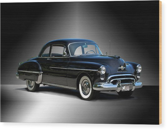 1950 Oldsmobile 88 Deluxe Club Coupe I Wood Print by Dave Koontz