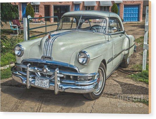 1951 Pontiac Chieftain Side View Wood Print