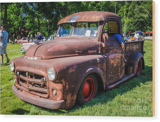 1952 Dodge Pickup Wood Print