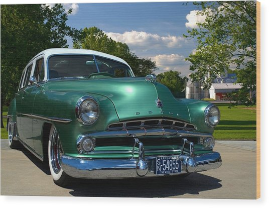 1952 Dodge Station Wagon Wood Print by Tim McCullough