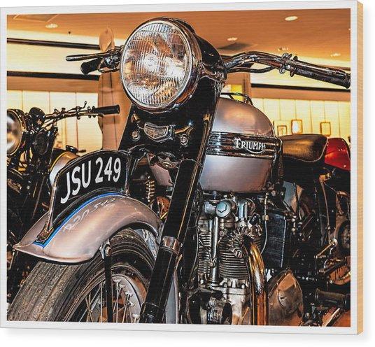 1952 Triumph Tiger 100 Wood Print
