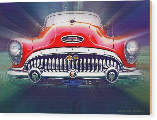1953 Buick Roadmaster Wood Print