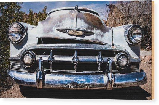 1953 Chevy Bel Air Wood Print