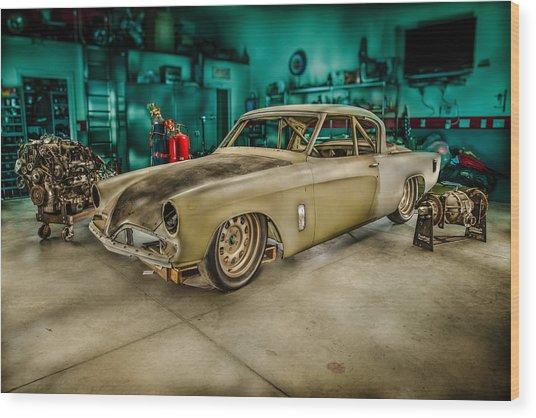 1953 Studebaker Hawk Wood Print