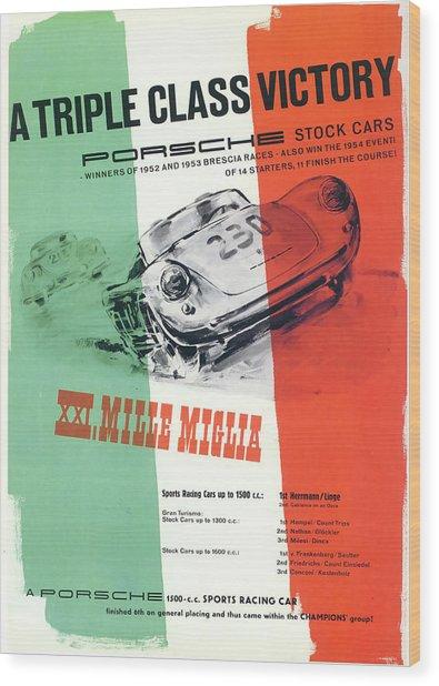 1954 Xxi Mille Miglia Wood Print