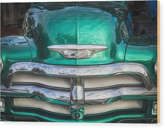 1955 Chevrolet First Series Wood Print