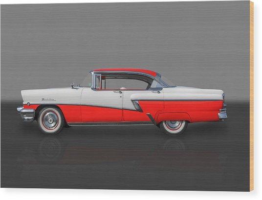 1956 Mercury Montclair Phaeton Wood Print by Frank J Benz