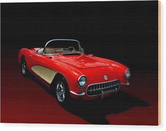 1957 Corvette Wood Print