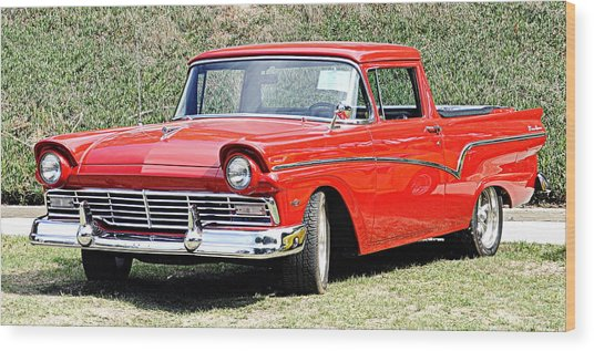 1957 Ford Ranchero Wood Print