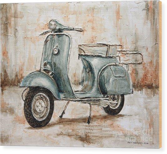 1959 Douglas Vespa Wood Print