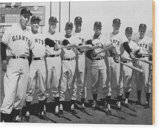 1961 San Francisco Giants Wood Print