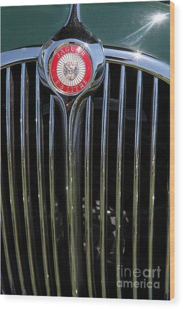 1962 Jaguar Mark II 5d23329 Wood Print by Wingsdomain Art and Photography