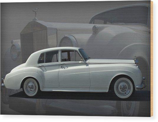 1962 Rolls Royce Silver Cloud Wood Print