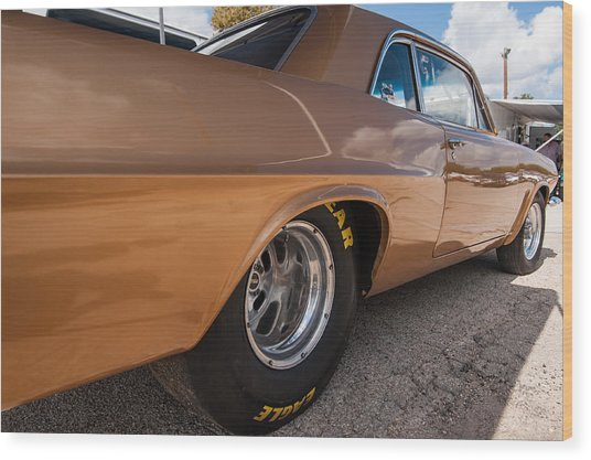 1963 Pontiac Lemans Race Car Wood Print