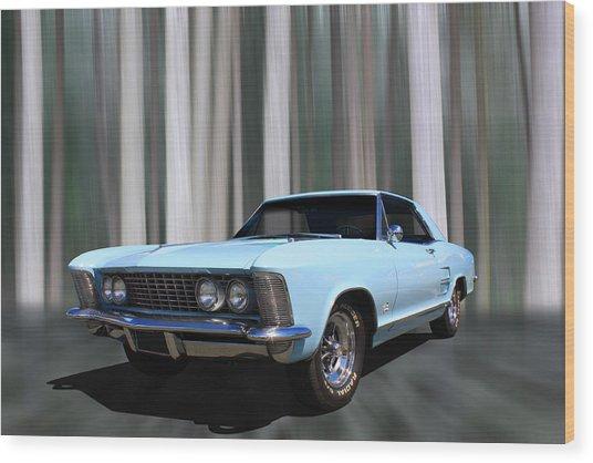 1964 Buick Riviera Wood Print