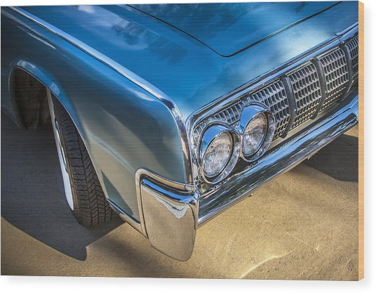 1964 Lincoln Continental Convertible  Wood Print