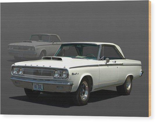 1965 Dodge Coronet 440 Wood Print