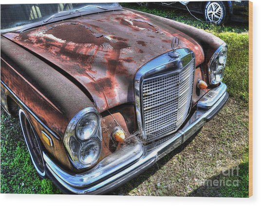 1965 Mercedes-benz Wood Print