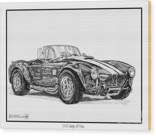 1965 Shelby Ac Cobra Wood Print