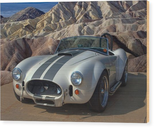 1965 Shelby Cobra Replica 427 Wood Print