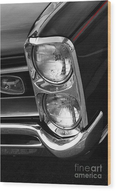 1966 Gto Wood Print